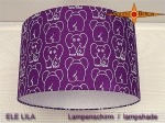 lamp shade ELE LILA Ø 35 cm THE PURPLE ELEPHANT