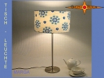 Table lamp MARGA Ø 30 cm retrodesign prilflowers 70