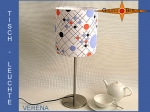 Table lamp VERENA Ø 20 cm dots retrodesign 70s