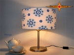 Table lamp MARGA Ø 35 cm retro design of 70s