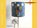 Wall lamp TSCHiLP Ø 20 cm birds, birds house fun