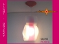 Preview: Lamp OCTO ROSEA light objekt with canopy pink