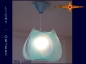 Preview: Lamp TEA LUCE light object with canopy translucent