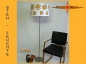 Preview: Floor lamp LUISA h 165 cm original flowers of 60s