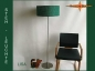 Preview: Floor lamp LISA h 155 cm green jute