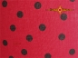 Preview: lamp shade Ø 50 cm LULU dots in black red