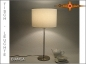 Preview: White table lamp BIANCA Table lamp linen white