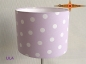 Preview: Wall lamp LILA Ø 20 cm dots on light purple