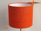 Mobile Preview: Wandleuchte WILMA Ø 20 cm Wandlampe orange Jute