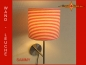 Preview: Wall lamp SAMMY Ø 25 cm red white ring around