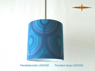Vintage lamp UNDINE Ø 35 cm hanging lamp in Panton style with diffuser