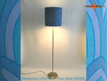 Vintage design floor lamp UNDINE floor lamp in the style of the Panton 70s