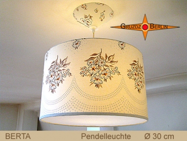 Vintage lamp BERTA Ø30 cm pendant lamp with diffuser retro design