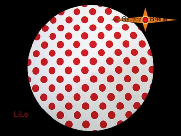Diffusor LILO Ø 45 cm for lampshades dots red whit