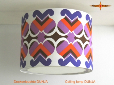 Vintage ceiling lamp DUNJA Ø50 cm ceiling light with diffuser in Panton style