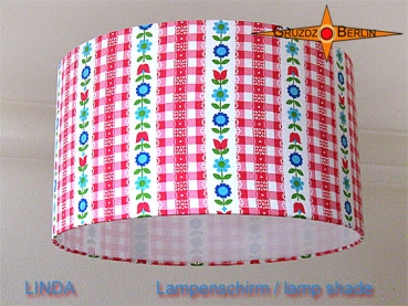 lamp shade LINDA Ø 35 cm original retrodesign 70s