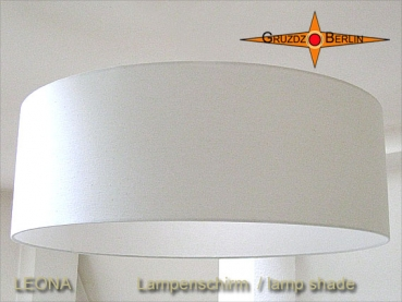 Lampshade beige LEONA Ø60cm Linen natural colors light