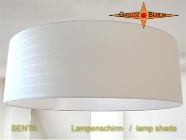 gruzdz berlin leuchten lampenschirme lichtobjekte lampenschirm senta 60 cm leinen bw. Black Bedroom Furniture Sets. Home Design Ideas