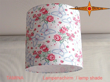 lamp shade TAMINA Ø 20 cm butterfly Retro