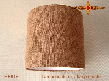 Small lampshade jute HEIDE Ø25 cm natural