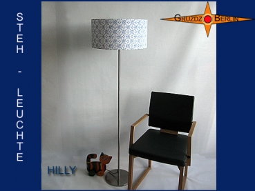 Floor lamp vintage style HILLY country style 50s