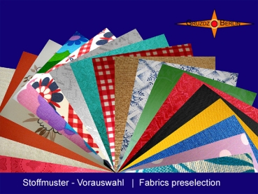 Selection of fabrics for your lamp and lamp shades
