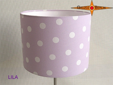 Wall lamp LILA Ø 20 cm dots on light purple