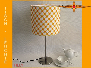 Table lamp TILLY Ø 20 cm original retro design