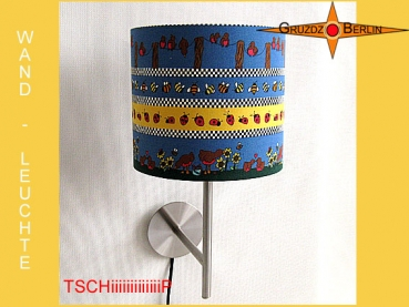 Wall lamp TSCHeeeeeeeP Ø 20 cm birds, beans and ladyybirds