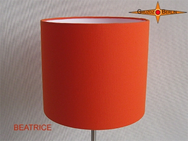 Lampenschirm orange BEATRICE Ø25 cm