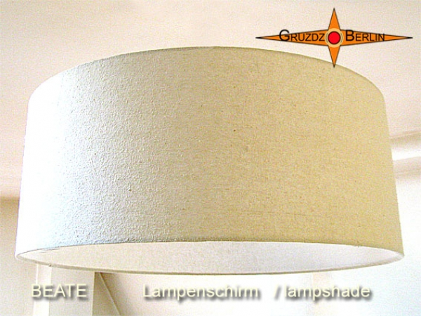Lamp shade BEATE Ø 50 cm bourette silk nature beige