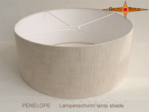 gruzdz berlin leuchten lampenschirme lichtobjekte gro formatiger lampenschirm naturfarben. Black Bedroom Furniture Sets. Home Design Ideas