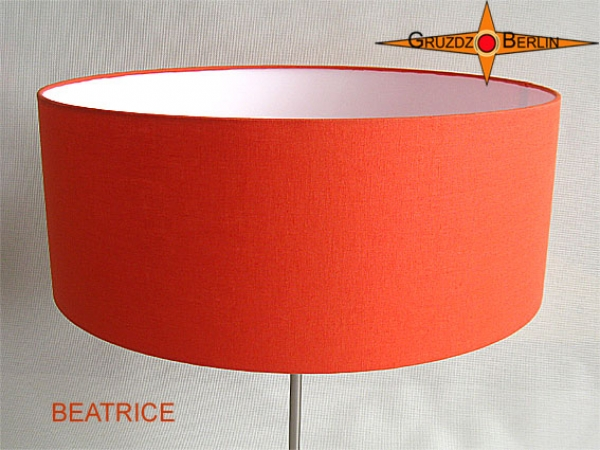 Floor lamp orange BEATRICE orange floor lamp