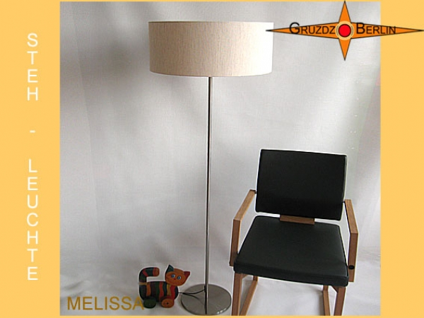 Floor lamp MELISSA h 155 cm farmers linen nature