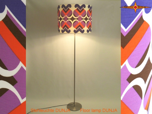 Vintage floor lamp DUNJA retrodesign 70s