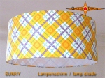 lamp shade SUNNY Ø 45 cm retrodesign sun yellow