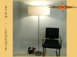 Floor lamp cream colors LEONA floor lamp light natural color